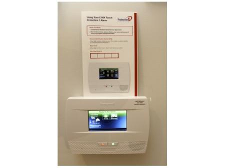 Wireless Monitored Alarm System with Mobile App Control