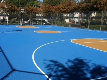 Community Basketball Court | Apartments For Rent Davis CA | The Edge
