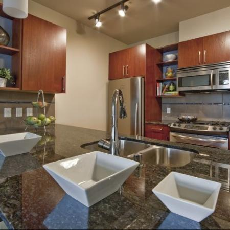 Elegant Kitchen | Seattle Apartments | Equinox