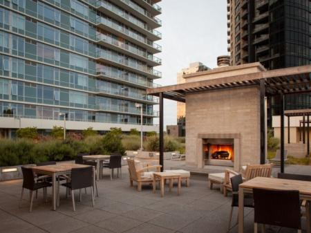 Resident Fire Pit | Apartments In Portland Oregon | Riva on the Park