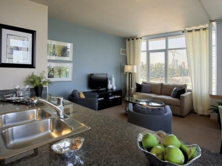 Luxurious Living Room | Apartments In Portland | Riva on the Park
