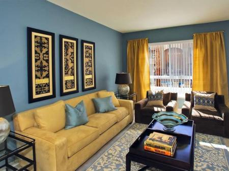 Spacious Living Room | Dublin Apartments | Eclipse at Dublin Station