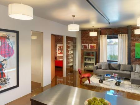 Spacious Living Room   Apartments In San Francisco   Arc Light