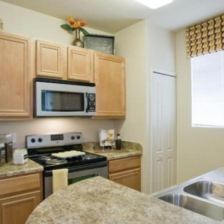 State-of-the-Art Kitchen | Luxury Apartments Orlando | Aqua at Millenia