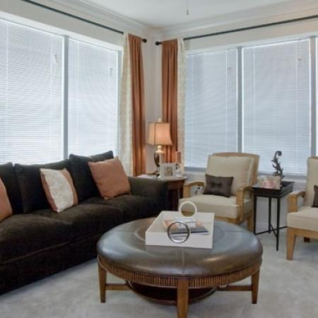 Spacious Living Room | Orlando Apartments | Aqua at Millenia