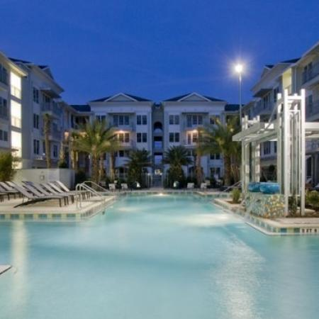 Sparkling Pool | Apartments In Orlando FL | Aqua at Millenia