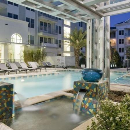 Heated Pool | Apartments For Rent Orlando FL | Aqua at Millenia