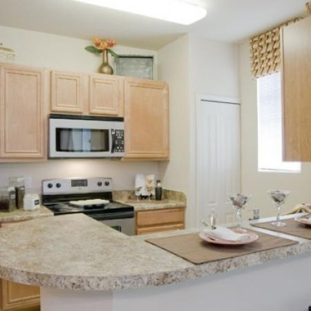 Spacious Kitchen | Apartments In Orlando FL | Aqua at Millenia