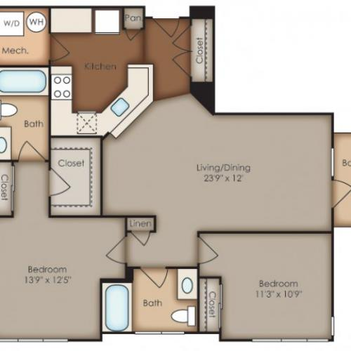 Floor Plan 5 | Del Ray Central