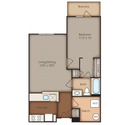 Floor Plan 10 | Del Ray Central