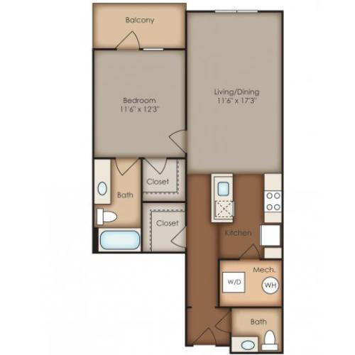 Floor Plan 14 | Del Ray Central