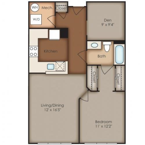 Floor Plan 18 | Del Ray Central