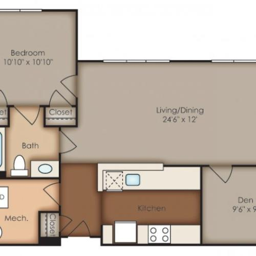 Floor Plan 19 | Del Ray Central