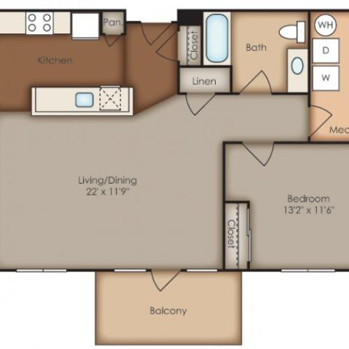 Floor Plan 20 | Del Ray Central