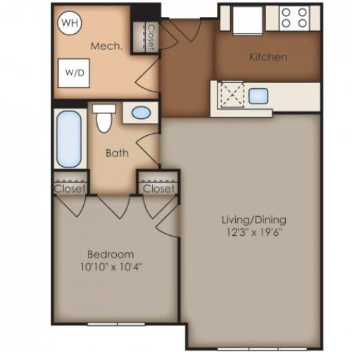 Floor Plan 23 | Del Ray Central