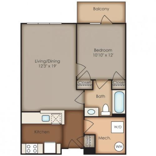 Floor Plan 25 | Del Ray Central