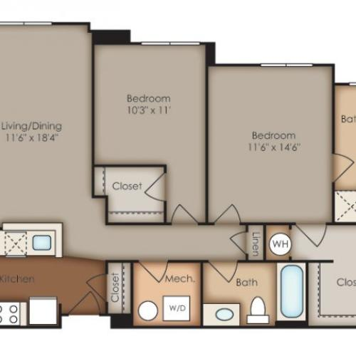 Floor Plan 30 | Del Ray Central