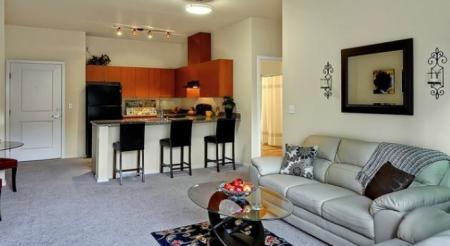 Living Room at Redmond Square