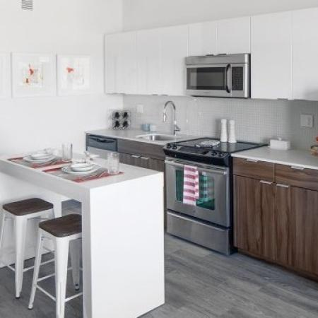 Elegant Kitchen | Apartments In Portland | The Addy