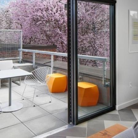 Community Sun Deck | Apartments In Portland | The Addy 1