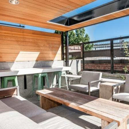 Resident Sun Deck | 2 Bedroom Apartments Portland Oregon | The Addy