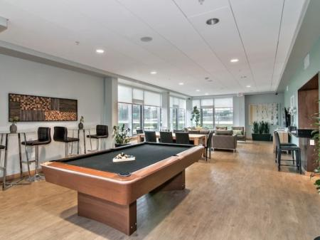 Resident Game Room | Portland Apartments | Riva on the Park