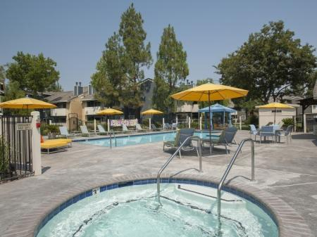 Resort Style Pool | Apartments In Davis CA | The Edge 1