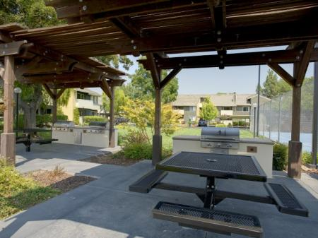Resident BBQ | Apartments In Davis CA | The Edge