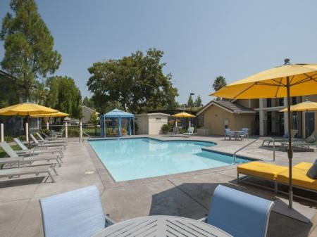 Resort Style Pool | Apartments In Davis CA | The Edge 3