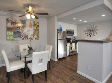 Spacious Dining Room | Davis Apartments For Rent | The Edge