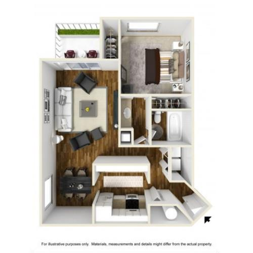 Floor Plan 2 | Chazal Scottsdale 2