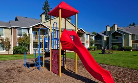 Community Children's Playground | Apartments Hillsboro OR | Jackson School Village