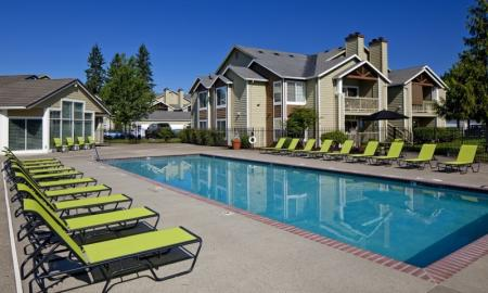 Swimming Pool | Apartments Hillsboro OR | Jackson School Village