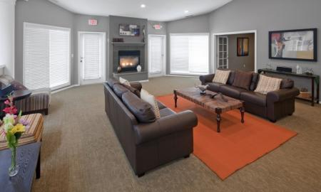 Spacious Living Room | Hillsboro Apartments | Jackson School Village