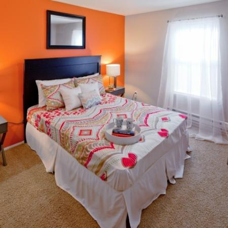 Elegant Bedroom | Vancouver Washington Apartments | Eight Towncenter