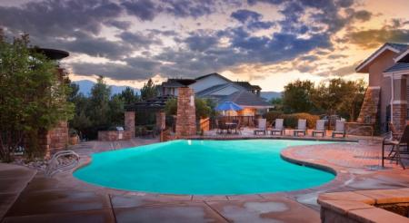 Resort Style Pool | Apartments In Colorado Springs | Champions of Nor'wood