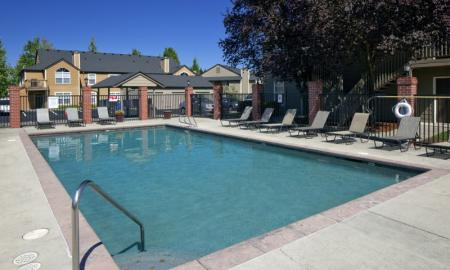 Swimming Pool | Vancouver Apartments | Village at Cascade Park