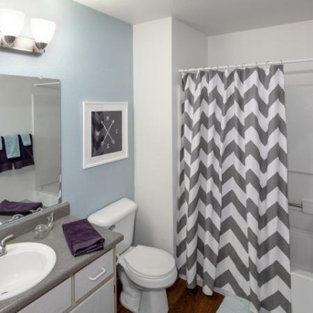 Elegant Bathroom | Apartments In Vancouver WA | Village at Cascade Park