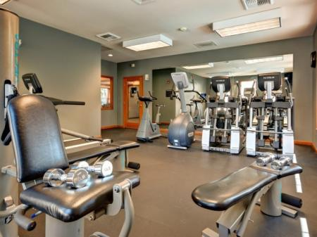 Cutting Edge Fitness Center | Apartments For Rent In Renton WA | Springbrook Apartments