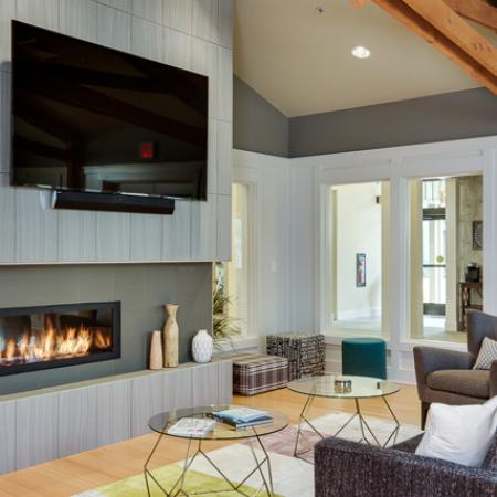 Elegant Living Room | Luxury Apartments In Eugene Oregon | The Bailey at Amazon Creek