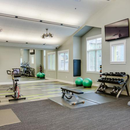 Cutting Edge Fitness Center | Apartments Eugene Oregon | The Bailey at Amazon Creek