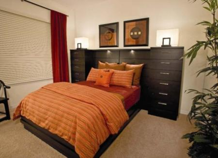 Elegant Master Bedroom | Apartments Orlando | Urbana