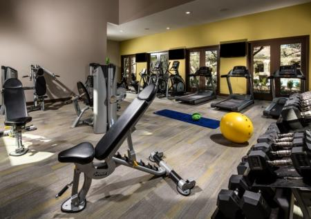 State-of-the-Art Fitness Center | Apartment Corona CA | Encanto at Dos Lagos