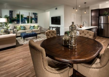 Luxurious Dining Room | Corona Apts For Rent | Encanto at Dos Lagos