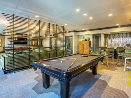 Resident Billiards Table | Apartments Raleigh NC | NorthCity 6