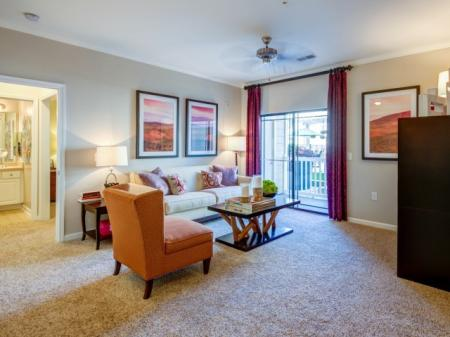 Spacious Living Room | Apartments In Raleigh NC | NorthCity 6