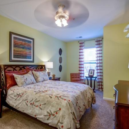 Spacious Bedroom | Raleigh NC Rentals | NorthCity 6