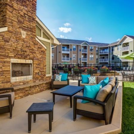 Resident Fire Pit | Raleigh NC Apartments | NorthCity 6