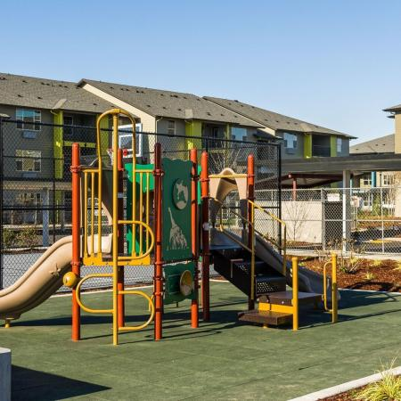 Community Children's Playground | Eugene Oregon Apartments Pet Friendly | The Bailey at Amazon Creek