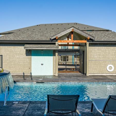 Swimming Pool | Eugene Oregon Apartments Pet Friendly | The Bailey at Amazon Creek